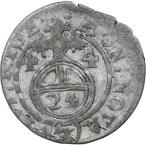 Riga - Sweden 1/24 taler 1644 - Kristina (1632-1654)
