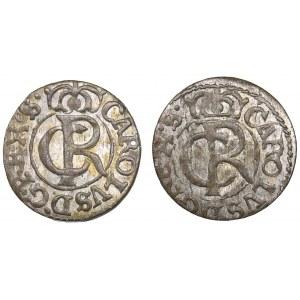 Riga - Sweden Solidus 1663 - Karl XI (1660-1697) (2)