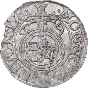 Livonia 1/24 taler 1669 - Karl XI (1660-1697)