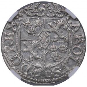 Riga - Sweden 1/24 taler 1669 - Karl XI (1660-1697) - NGC MS 66