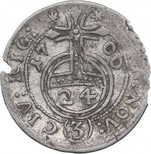 Riga - Sweden 1/24 taler 1700  - Karl XII (1697-1718)