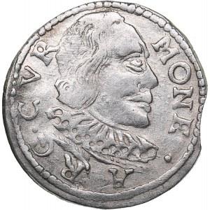 Courland 3 grosz 1598 - Wilhelm Kettler (1587-1616)