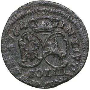 Courland solidus 1764 - Ernst Johann Biron (1763-1769)