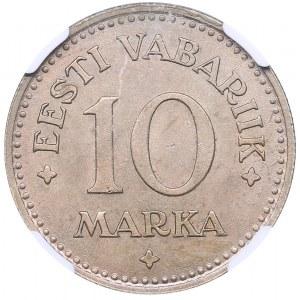 Estonia 10 marka 1925 - NGC MS 63