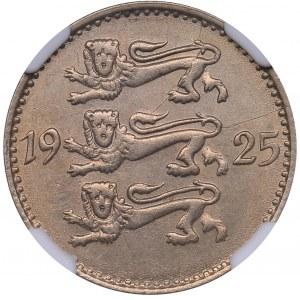Estonia 3 marka 1925 - NGC MS 61
