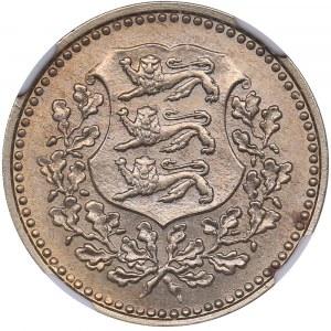 Estonia 3 marka 1926 - NGC MS 63