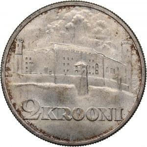 Estonia 2 krooni 1930 - Toompea