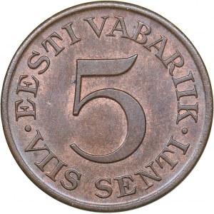 Estonia 5 senti 1931