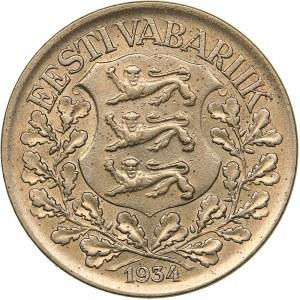 Estonia 1 kroon 1934