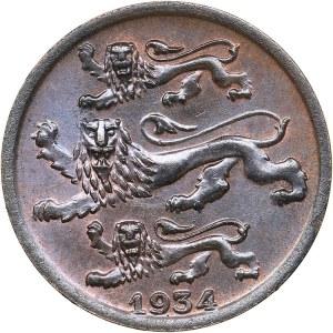 Estonia 2 senti 1934