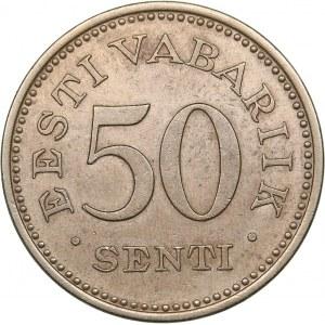 Estonia 50 senti 1936