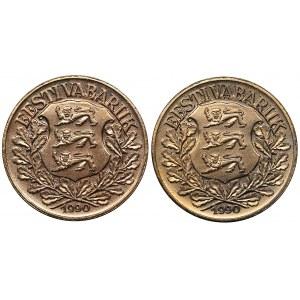 Estonia 1 kroon 1990 (2)
