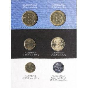 Estonia coins set 2004