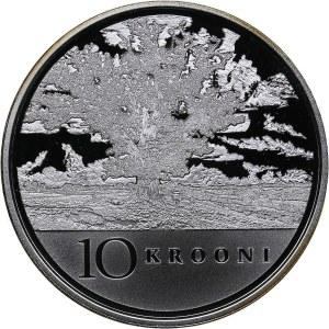 Estonia 10 krooni 2008 - 90th Anniversary of the Republic of Estonia