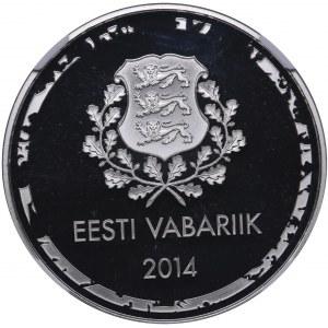 Estonia 10 euro 2014 - Olympics - NGC PF 68 ULTRA CAMEO