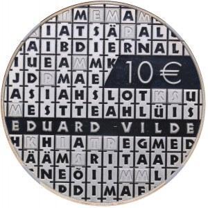 Estonia 10 euro 2015 - E. Vilde - NGC PF 69 ULTRA CAMEO