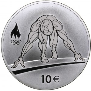 Estonia 10 euro 2016 - Rio Olympics