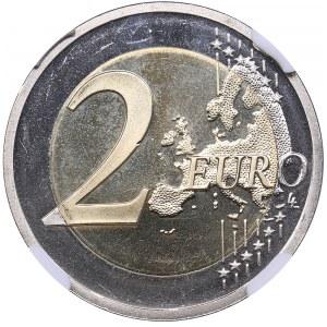 Estonia 2 euro 2016 - NGC MS 66 DPL