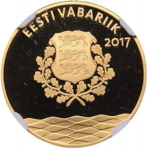 Estonia 25 euro 2017 - Hanseatic Tallinn - NGC PF 70 Ultra Cameo