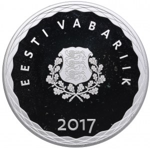 Estonia 8 euro 2017 - Hanseatic Tallinn