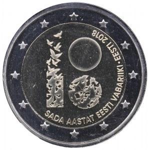 Estonia 2 euro 2018 - Estonia 100 - NGC MS 67 DPL