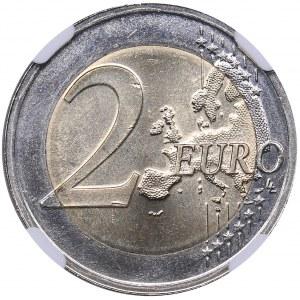 Estonia 2 euro 2018 - NGC MS 66