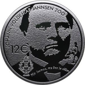Estonia 12 euro 2019 - J. Jannsen