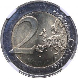 Estonia 2 euro 2021 - NGC MS 66