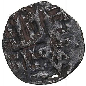 Lithuania AR Denaras - Vladimiras Algirdas. Grand Prince of Kiev (1362-1394)