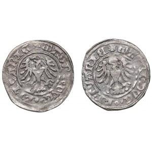 Lithuania 1/2 grosz ND - Alexander Jagiellon (1492-1506) (2)