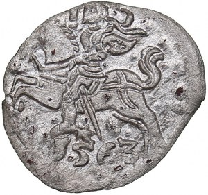 Lithuania Denar 1563 - Sigismund II Augustus (1545-1572)