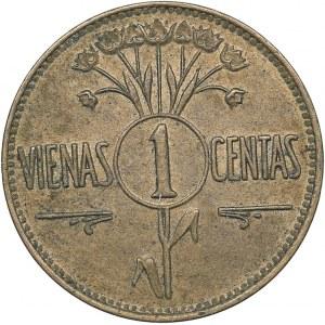 Lithuania 1 centas 1925