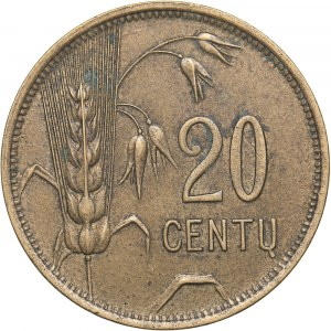 Lithuania 20 centu 1925