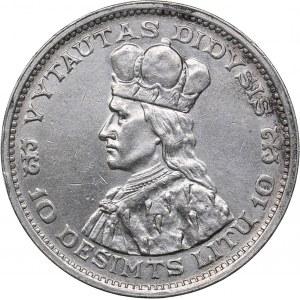 Lithuani 10 litu 1936