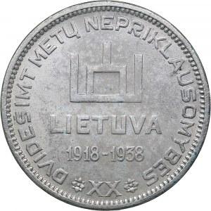 Lithuania 10 litu 1938 A. Smetona