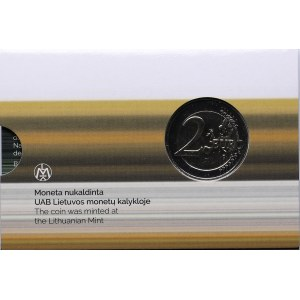 Lithuania 2 euro 2021