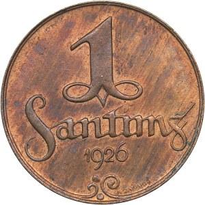Latvia 1 santims 1926