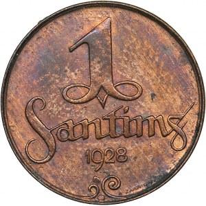 Latvia 1 santims 1928