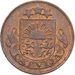 Latvia 2 santimi 1928