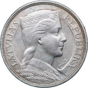 Latvia 5 lati 1929