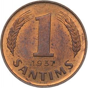 Latvia 1 santims 1937