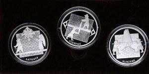 Latvia coin set - Vidzeme