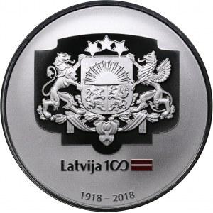 Latvia 5 euro 2018