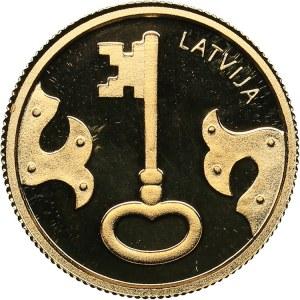 Latvia 5 euro 2021 - The key