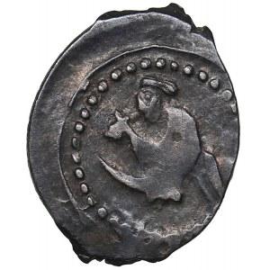 Russia - AR Denga 1416-1423 - Vasily I Dmitrievich (1389-1425)