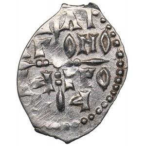 Russia - Novgorod AR Denga - Free city of Novgorod (1420-1478)