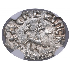 Russia - Pskov AR Denga - Pskov Republic (1425-1510) - NGC MS 65
