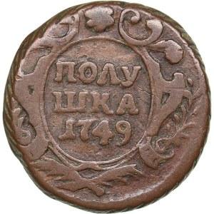 Russia Polushka 1749