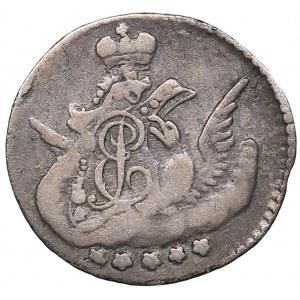 Russia 5 kopecks 1757 СПБ