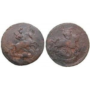 Russia 2 kopecks 1758 (2)